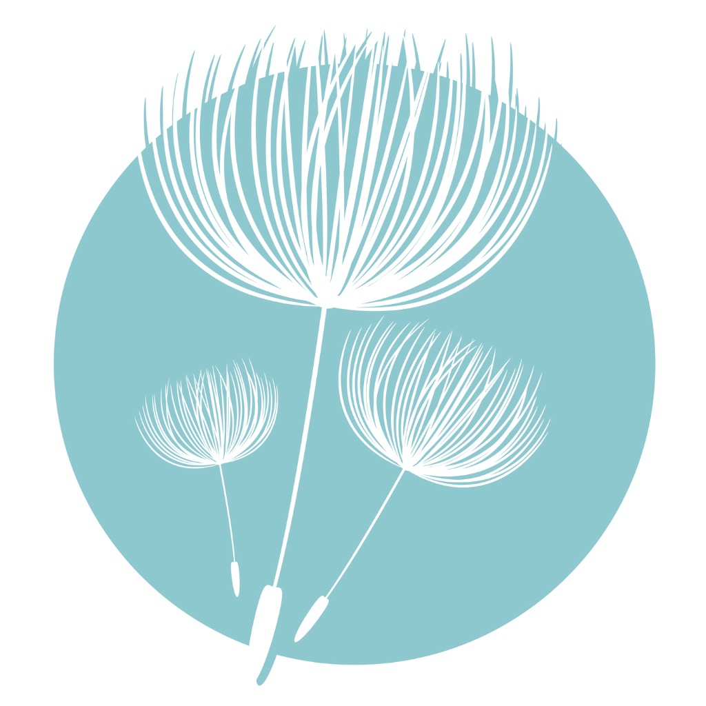 abstract-fluffy-dandelion-flower-logo-vector-illustration-vector-id527059340